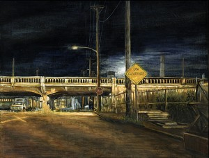 McLoughlin Boulevard Viaduct, 2005