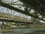 Under the Interstate Bridge