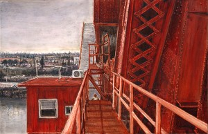 Atop the Broadway Bridge, 2011