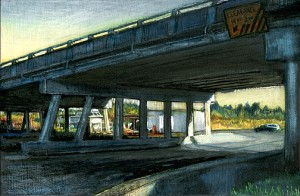 Under the Oregon Coast Highway, 2005